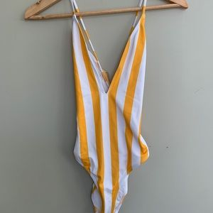 Never worn once piece bathing suit